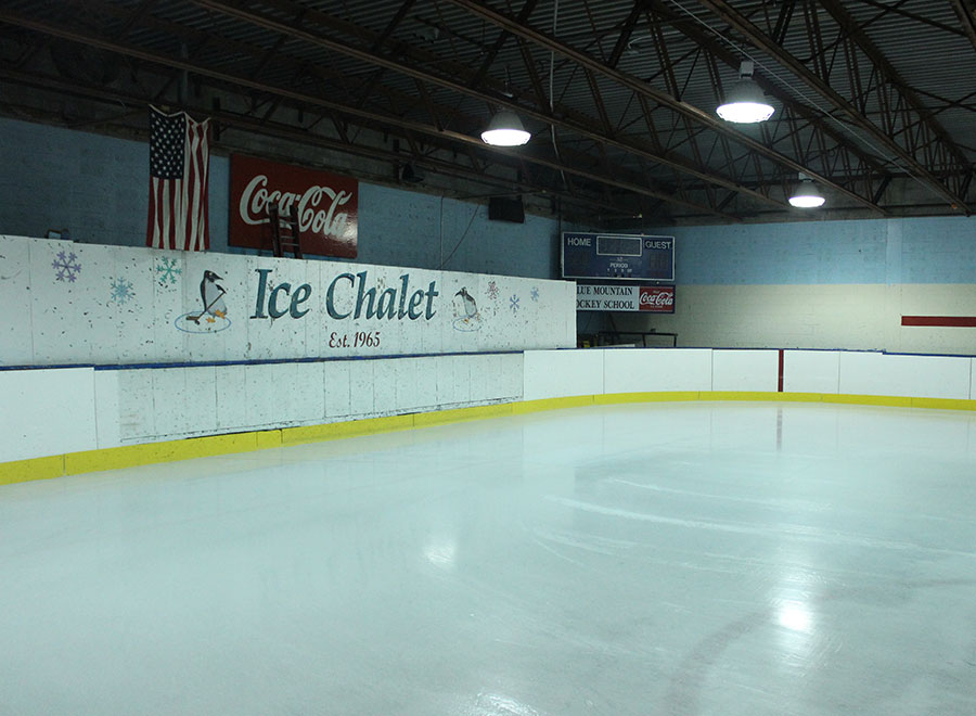 The YWCA Ice Chalet