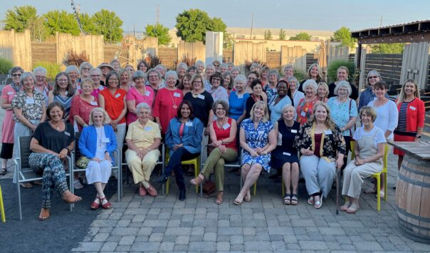 Leadership Circle and past board members gather at Foundry Vineyards